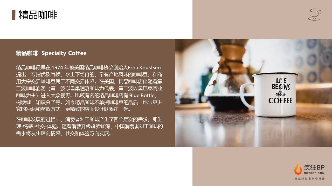[iNJOYCOFFEE]开咖啡厅咖啡豆咖啡店创业计划书模板范文-undefined