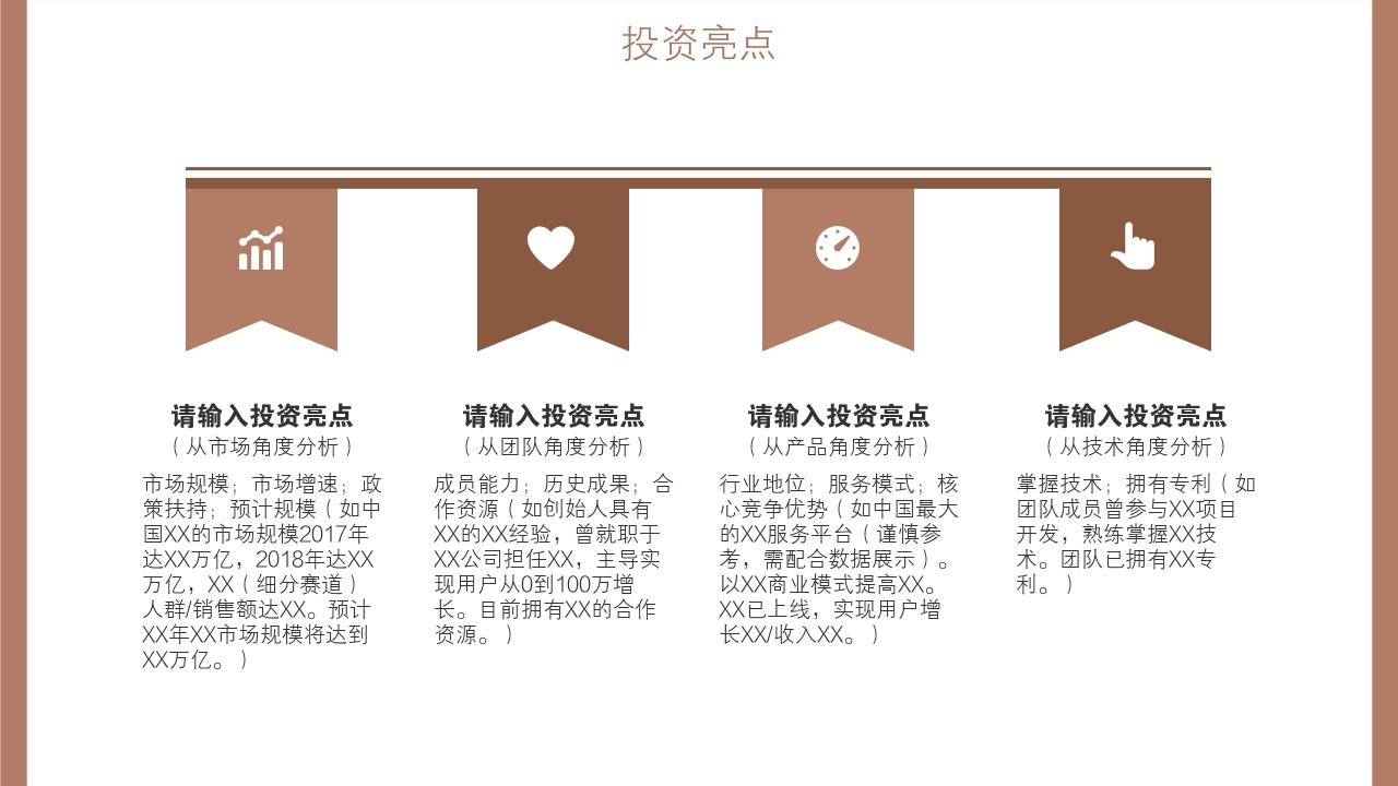 餐飲行業輕奢網紅簡餐健康餐創業項目商業計劃書模板-投資亮點